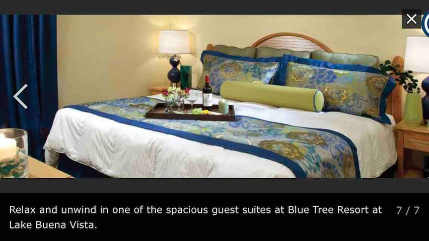 Suite de Lujo Blue Tree Resort Parques Disney