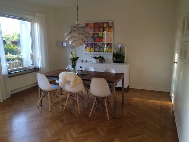 Family living near central Gothenburg