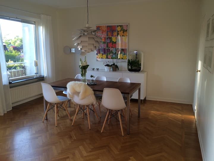 Family living near central Gothenburg