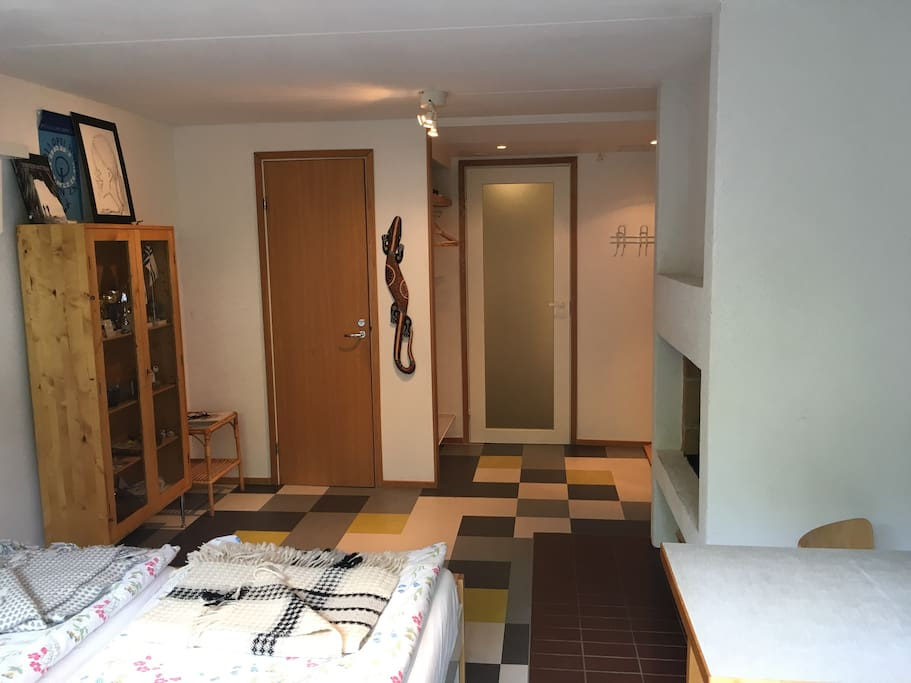 Single bedroom, separate WC and shower room.