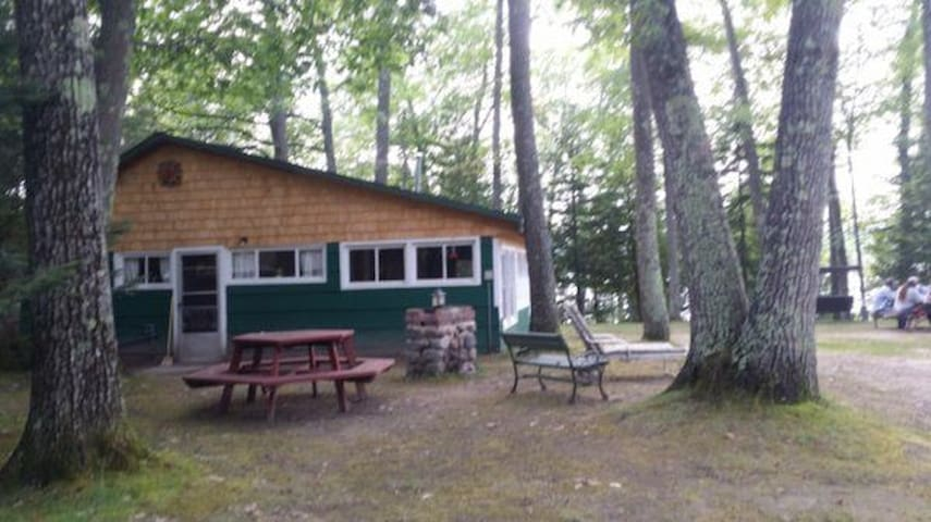 Northwoods cottage on a beautiful 1,100 acre lake