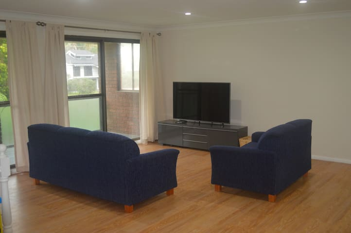 Lounge and large screen TV