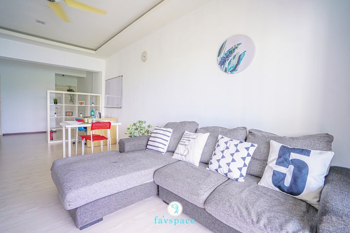 Spacious 3 BR Near South City Mall 7 Min Walk 中文房东