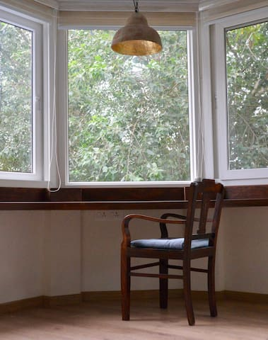 Study Table in The Peepal Room