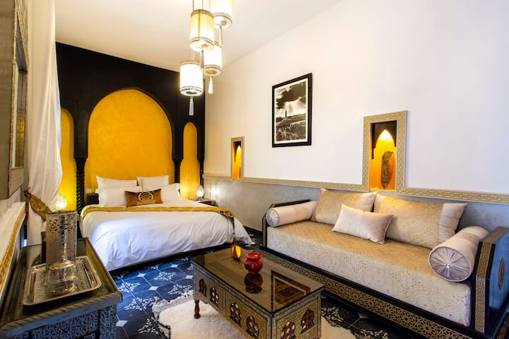 Magnifique Suite dans Riad place Riad Laarouss