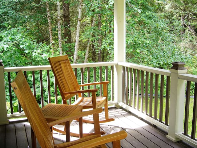 The Forest Haven Suite: Cottage In The CA Redwoods - Trinidad - Houten huisje