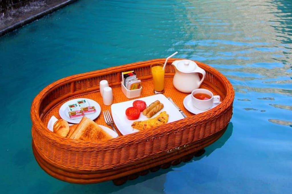 Your dream floating breakfas can arrange for additional charge. Ask in inquiry