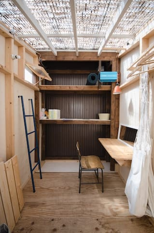 "Sanson Terrace ""off-grid tiny cottage"""