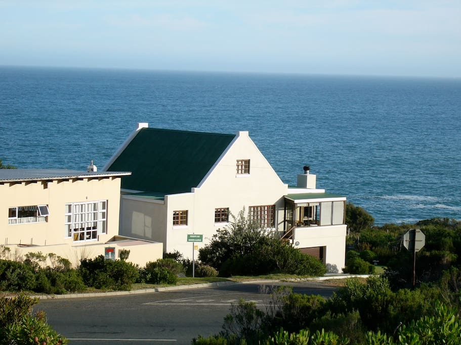 Cape Cottage style Main House. Apartment is on the ground floor
