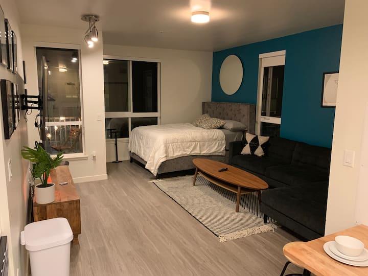 Stylish DTLA Studio With View Near Staples Center