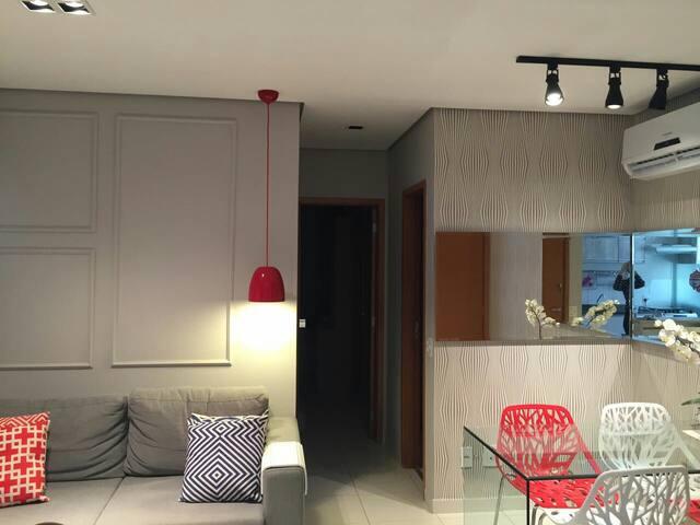 Apto novo, moderno e aconchegante! - Manaus - Apartamento