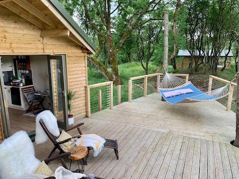 Ash Cabin v Bramblewoods s nádherným  výhledem
