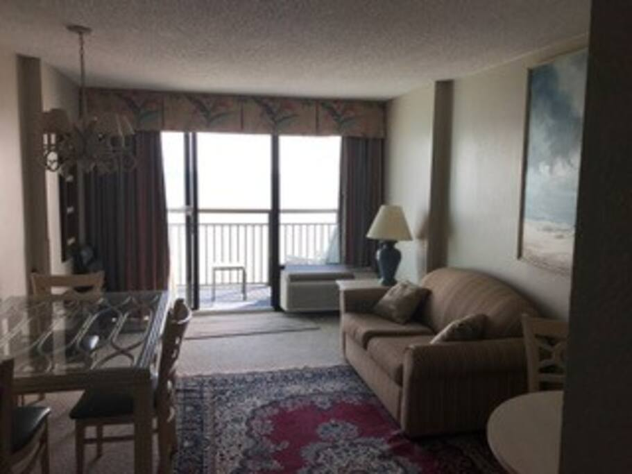 2 Bedroom 2 Bath Oceanfront Condo In Myrtle Beach South Carolina United States