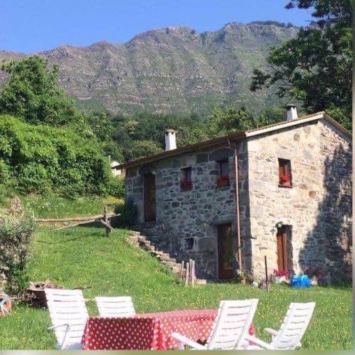Natura e relax in Val Cichero oggi piu' che mai!