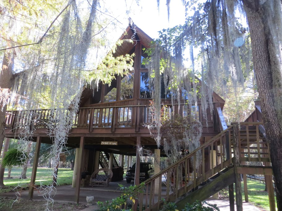 Serenity Lake House Caddo Lake Houses For Rent In