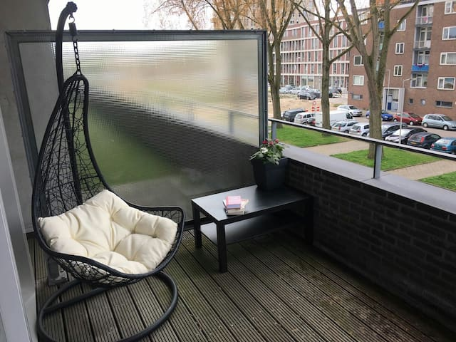 30m2 room with balcony in Amsterdam - Amsterdam - Appartement