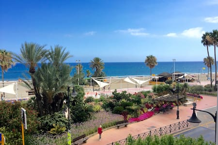 Beachfront studio - Estepona