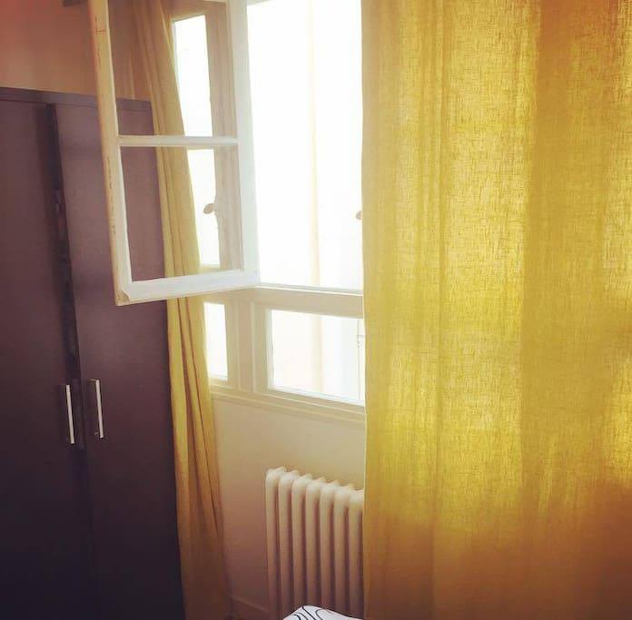 My bedroom's window