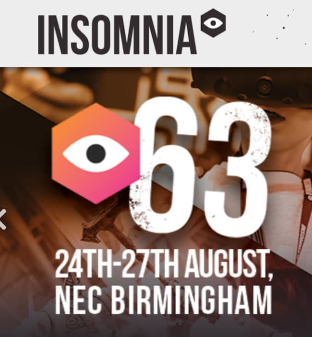 Exhibiting at Insomnia?  Stay with us