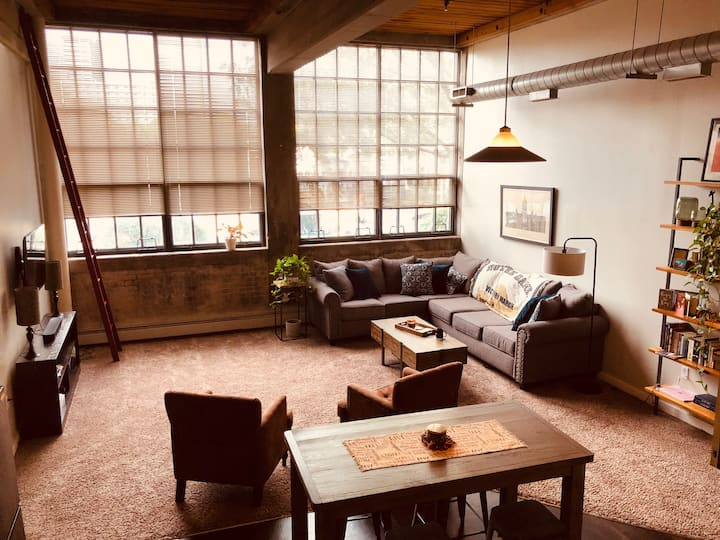 Historic Loft in South Bend/Notre Dame