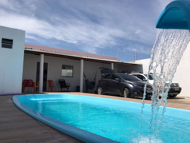 Bela Casa próxima a praia com piscina Aracaju
