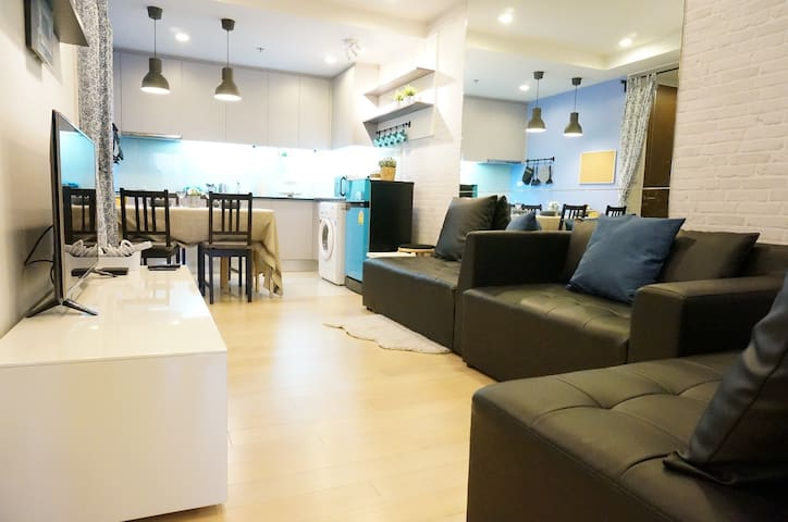 Amazing new 4BDs with 2 BDRs for 5 Pers ASOK/MRT - Bangkok - Flat