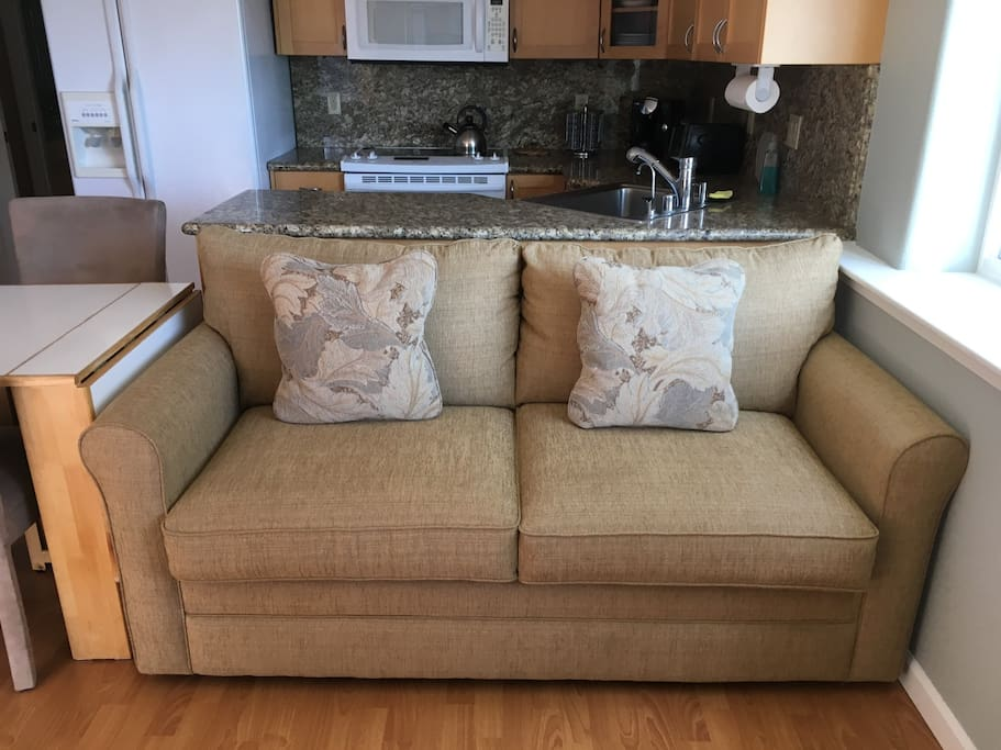 Brand new up graded sofa bed