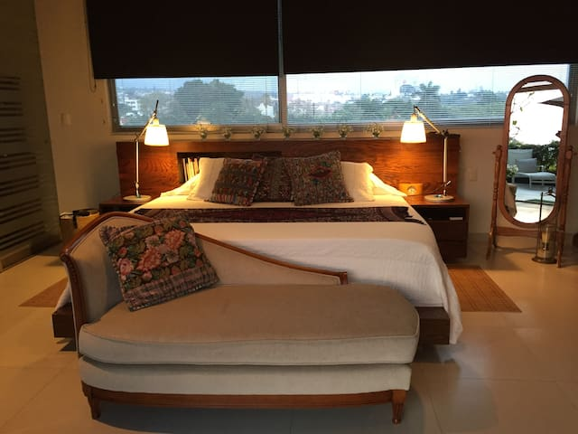 Art PentHouse Master Suite, Soul&Romance - Cuernavaca - Bed & Breakfast