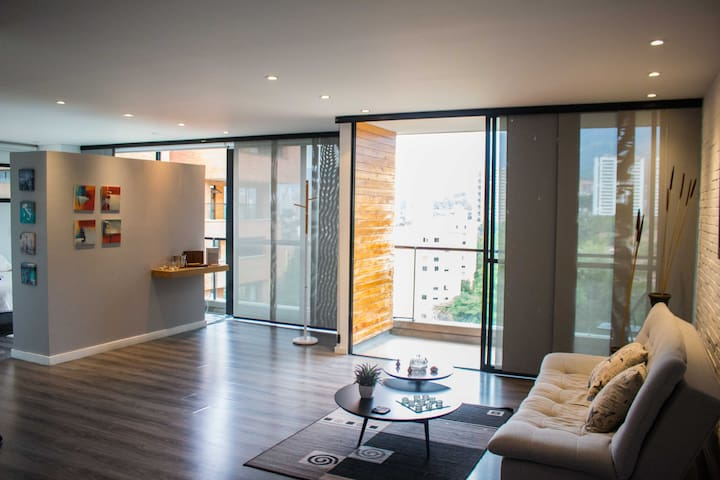 Cubik, Modern Loft with great view of Envigado