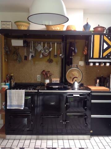 Aga stove to cook on