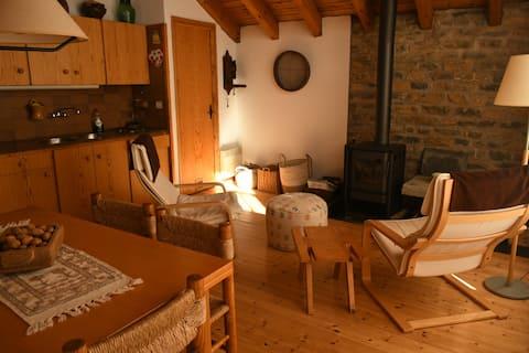 Petita casa rural amb vistes a la Vall d'Àssua