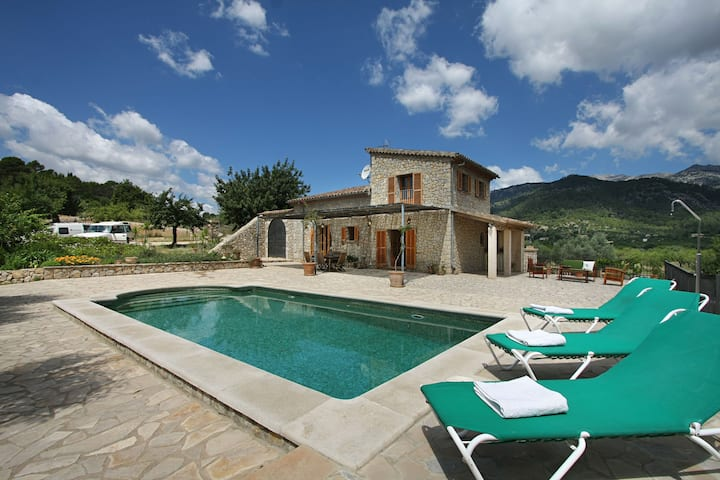 Comfy Holiday Home in Selva with Private Pool