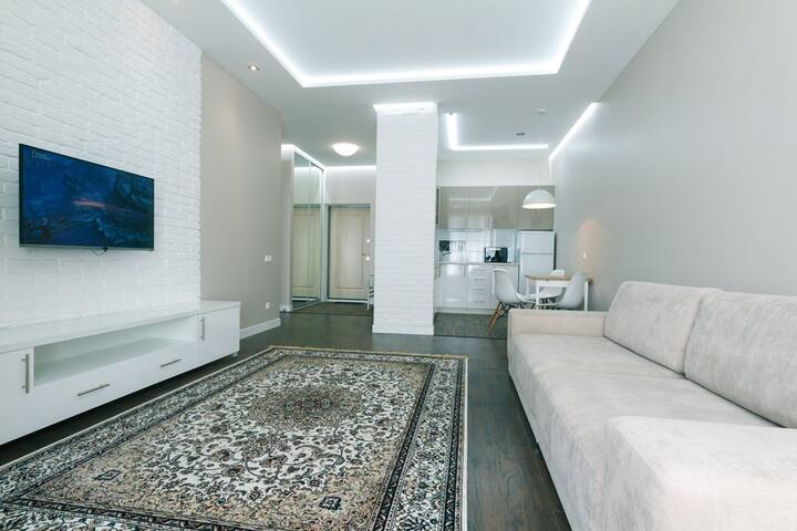 Magnificent apartment on Delovaya street
