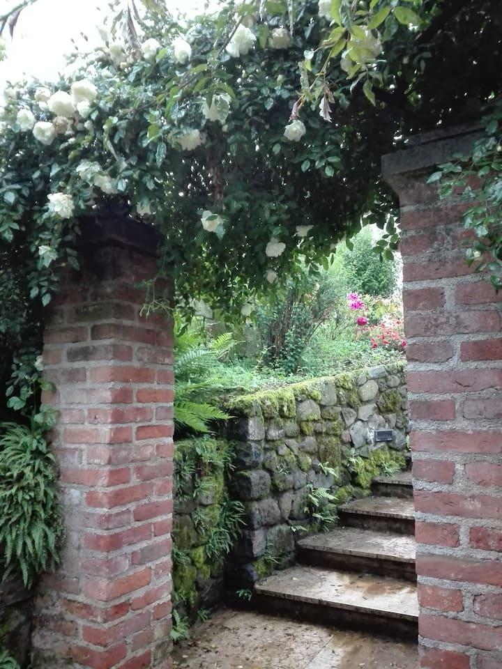 Tra arte e natura: una casa con l'anima