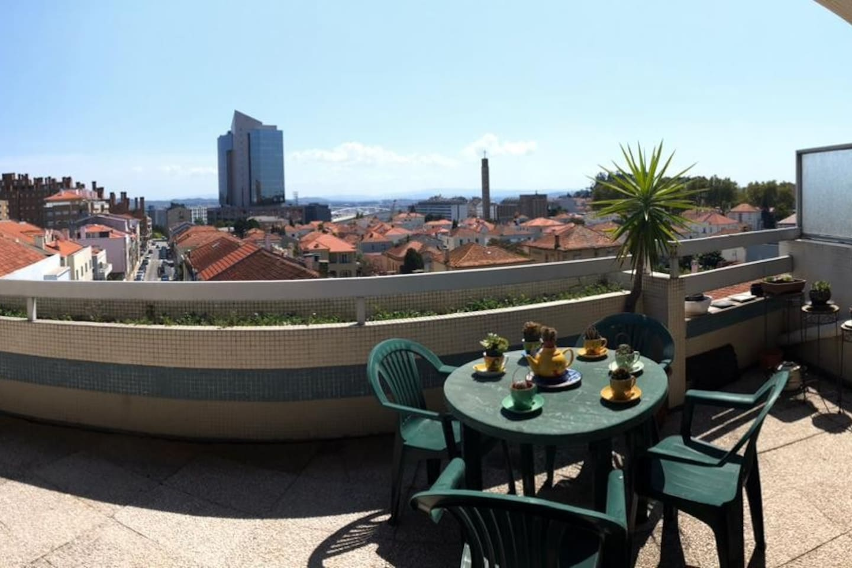 Vista Panorâmica do Terraço