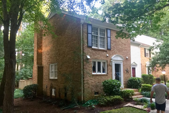 The Cozy Cary Townhome!