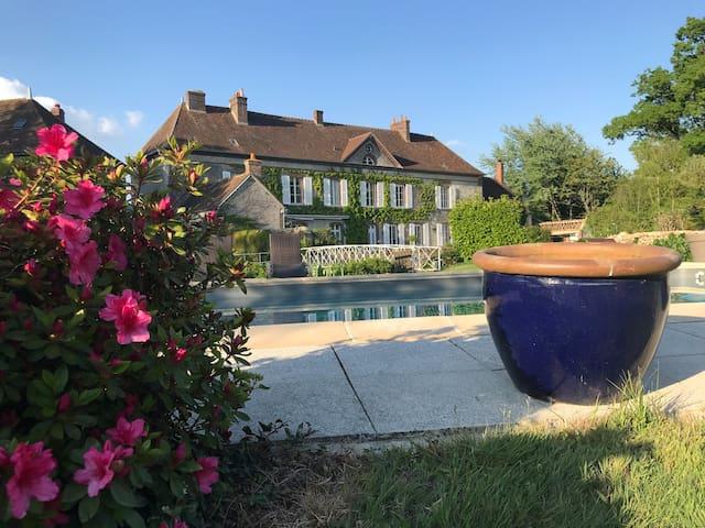 """Chambre """"Désiré"""" au Domaine de Meaucé - Le Perche"""