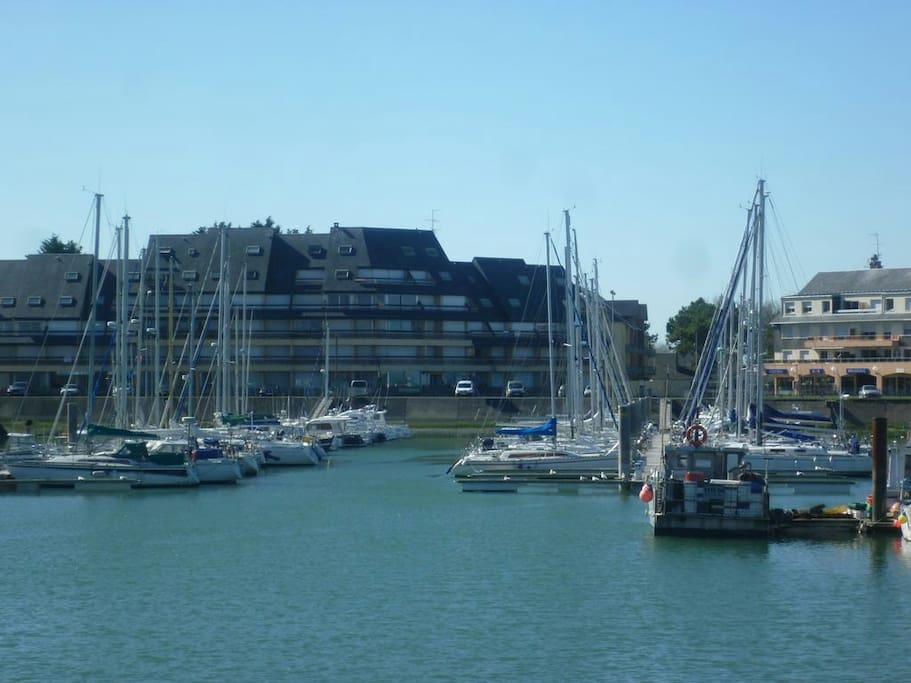 port de plaisance de grandcamp maisy