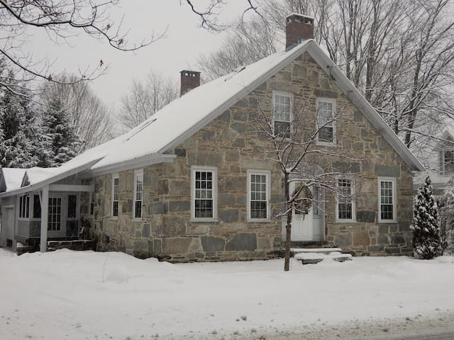 Plan a March ski trip @ The 1843 Stone House!