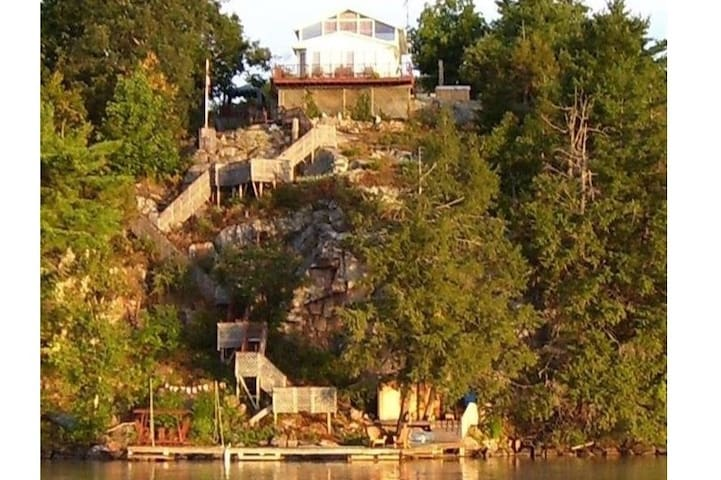 Highland House on Charleston Lake