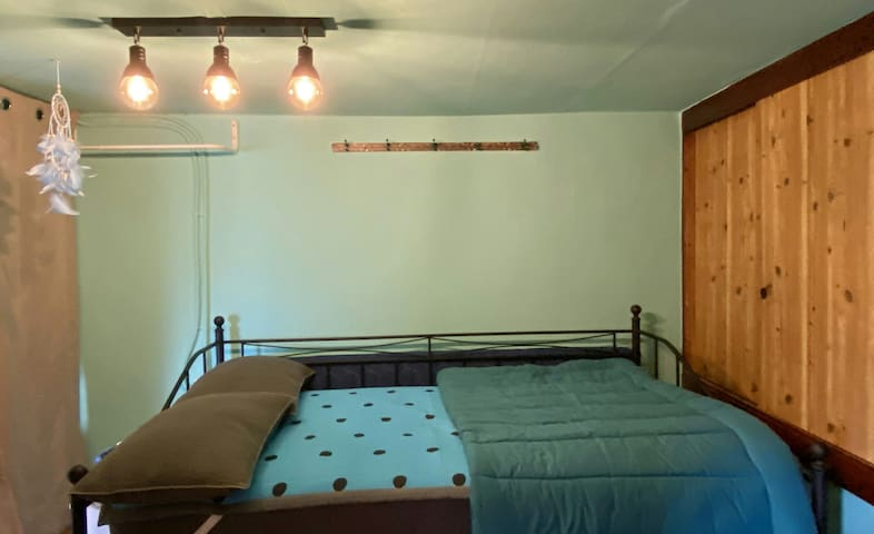 블루방♡♡ 슈퍼싱글 침대, 추가 침구세트가 준비되어 있어요