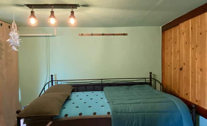 *블루개인실(1~2인실)* 뿐(PPOON)게스트하우스 제주 농가주택에서의 편안한 홈 스테이