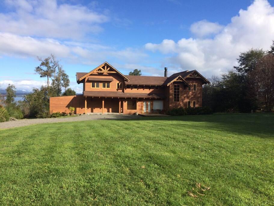 Arriendo casa orilla de lago vista increible maisons for 8 maison parc crt