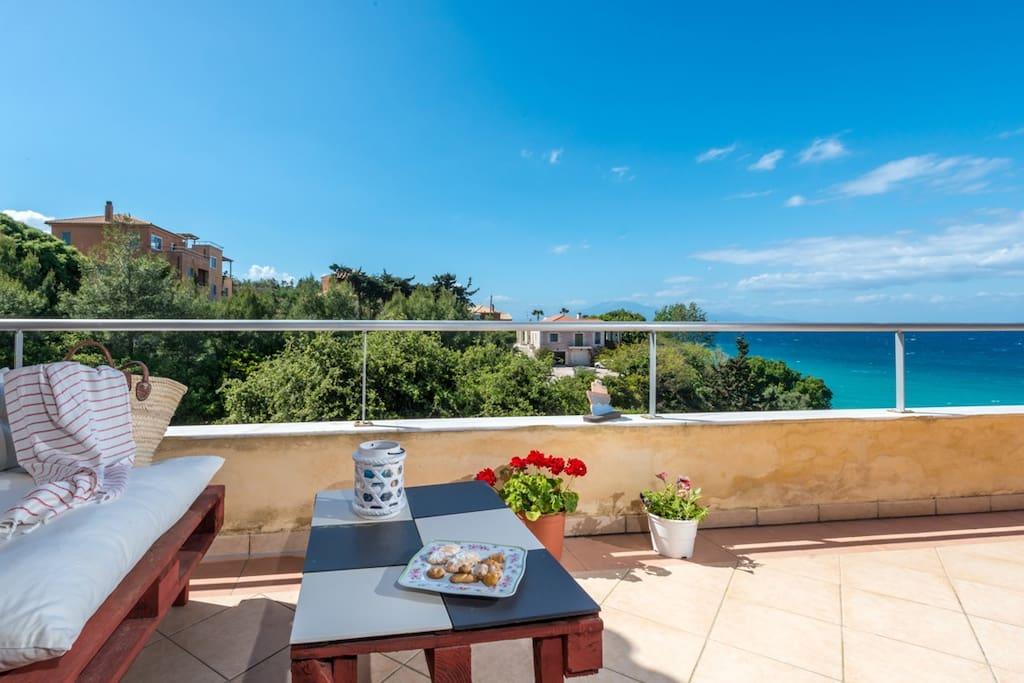 Balcony, Sea View