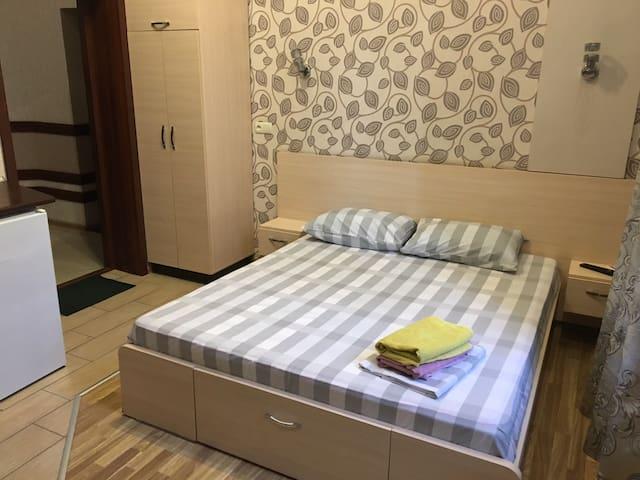 Apart-hotel on symskaya room 1