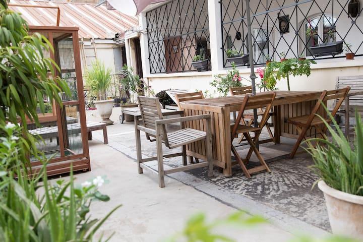 Chambre sur terrasse à Dakar-Plateau n°3