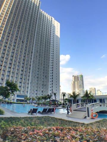 Beautiful view 27F-Jazz Residences - Manila - Condomínio
