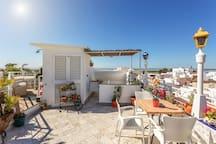 Pensão Bicuar Roof Garden Terrace