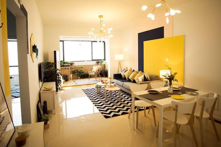 万景国际北欧精装湖景套房2505 - Meishan Shi - Apartamento