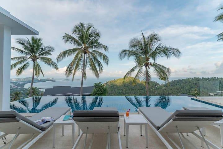 Villa La Moderne 4BR Private Pool & Sea View